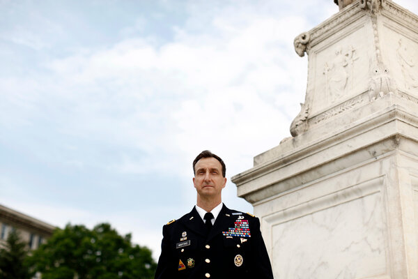 Brig. Gen. Mark S. Martins of the Army has announced his plans to retire after serving as the chief prosecutor for military commissions during the Obama and Trump administrations.