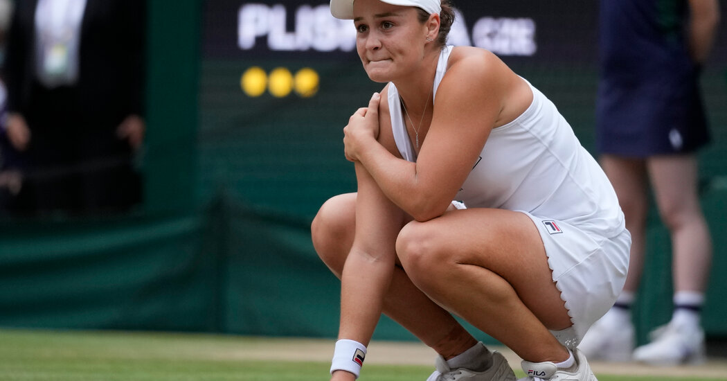 Ashleigh Barty Wins Wimbledon Women's Singles Title