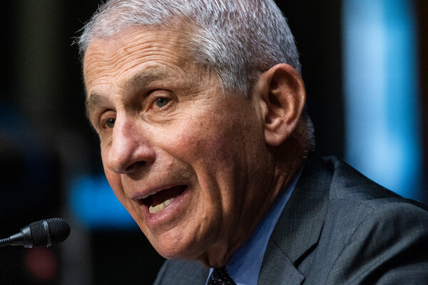 Dr. Anthony S. Fauci said on Sunday that federal agencies were still gathering data and studying whether booster shots for Covid would be necessary.
