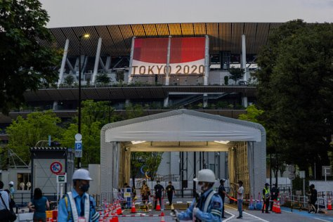 The Olympic stadium in Tokyo will be the site of the opening and closing ceremonies, as well as the track and field competitions.