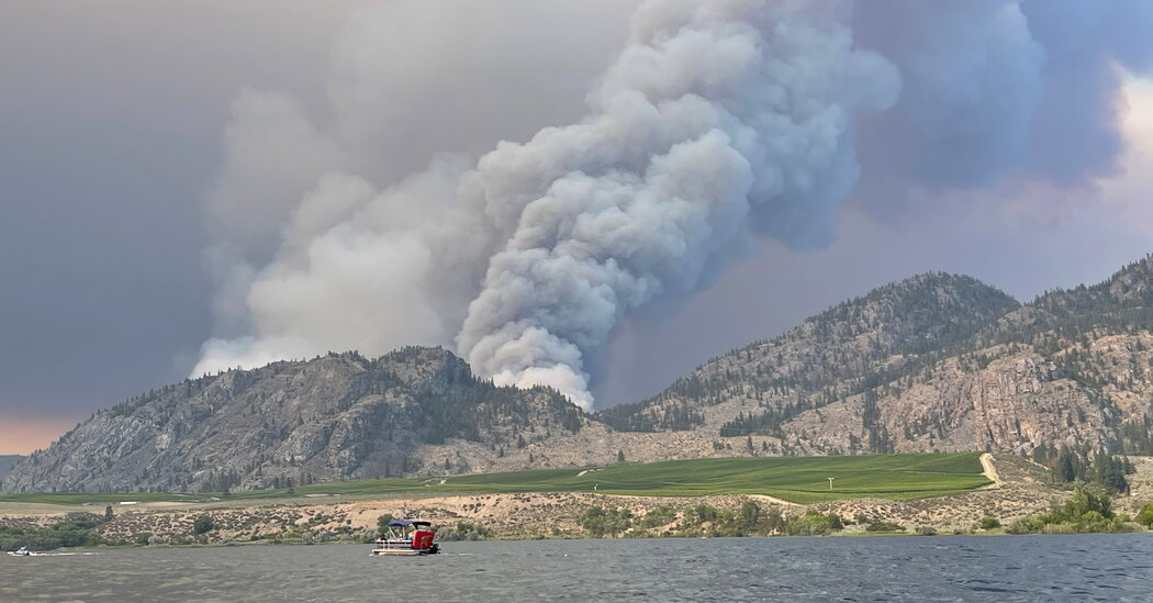 British Columbia Declares a State of Emergency as Wildfires Rage