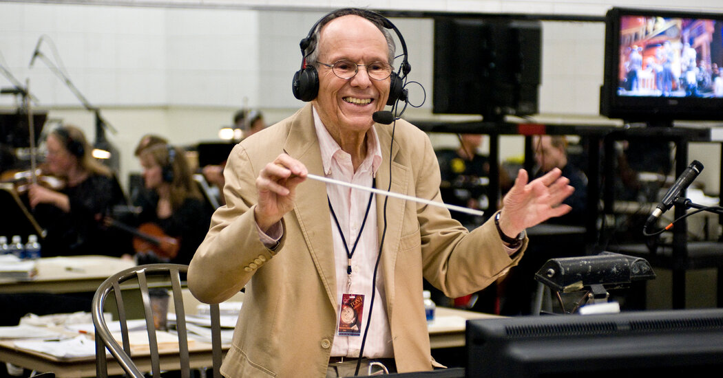 Elliot Lawrence, Award-Winning Conductor, Dies at 96