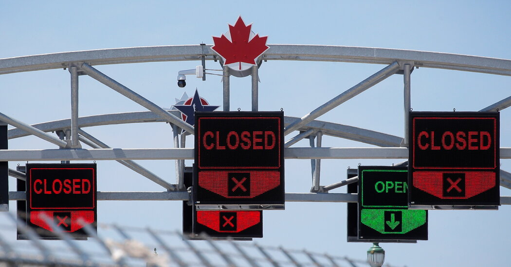 Countdown Begins For Canada-U.S. Border Reopening