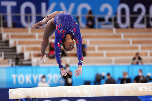 Simone Biles and the U.S. Women's Gymnastics Team Have an Off Day (For Them)