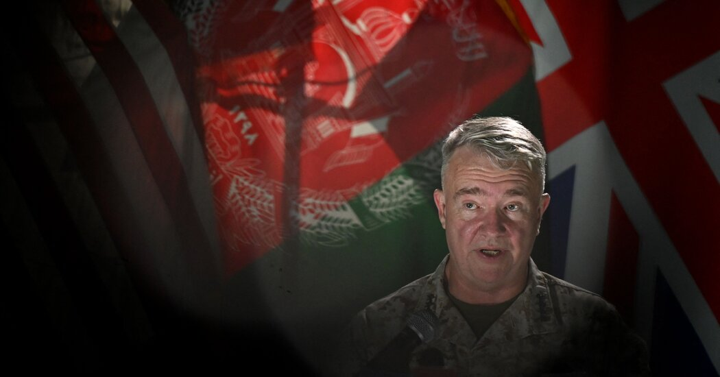 U.S. General Won't Commit to Ending Airstrikes on Taliban