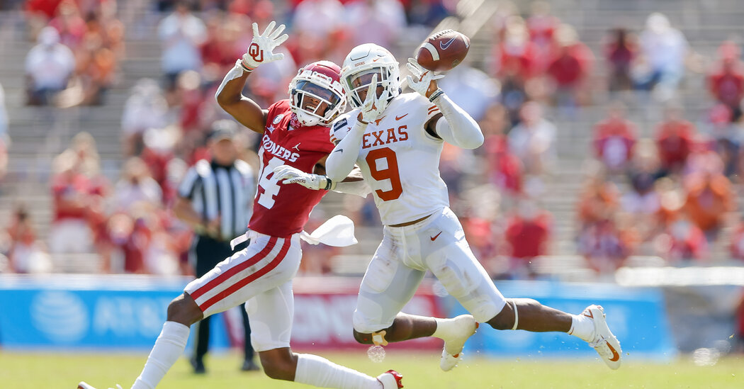 Texas, Oklahoma Indicate They'll Leave the Big 12 for the SEC