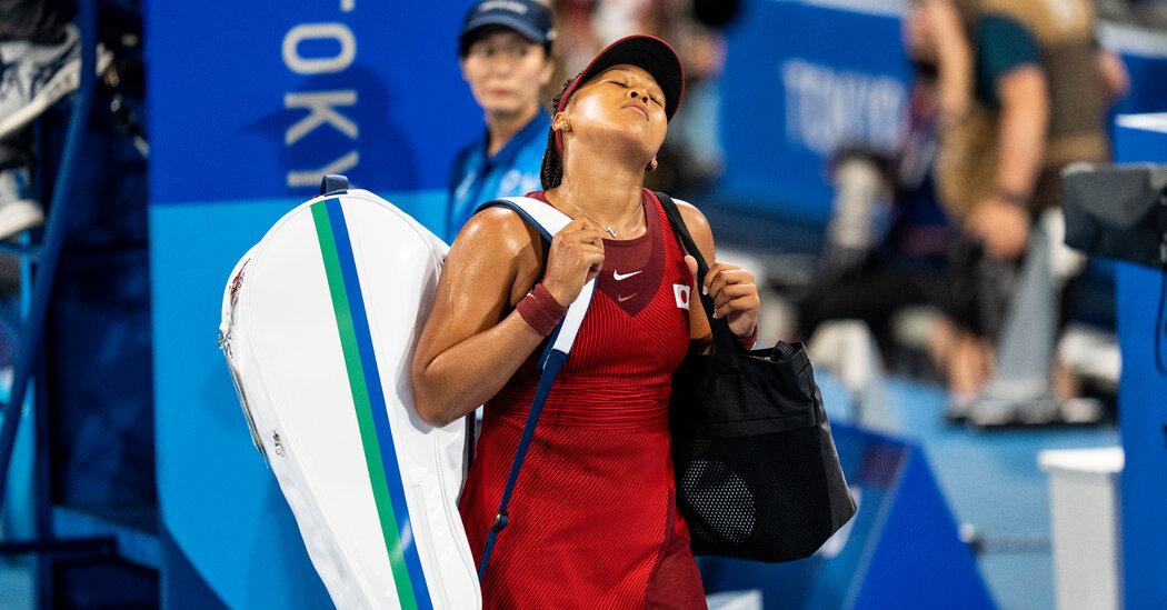How Naomi Osaka's Loss Gives Tokyo Its Latest Olympic Setback