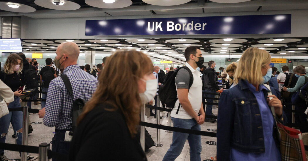 Travelers' Frustration Mounts at 'Confusing' British Covid Restrictions