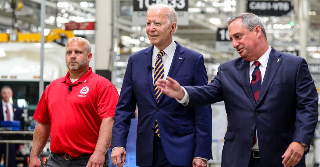 Biden Visits Pennsylvania to Promote Infrastructure Plan