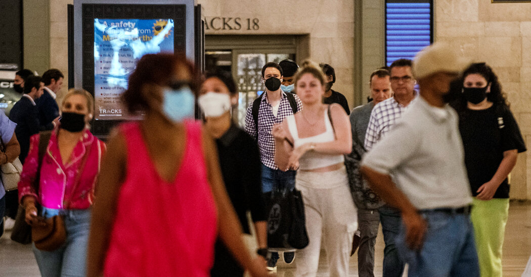 All of New York City Falls Under C.D.C. Indoor Mask Guidelines