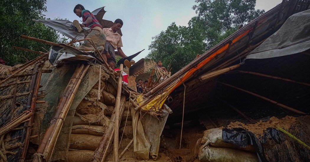 Deadly Floods Leave Thousands of Rohingya Refugees Homeless Again
