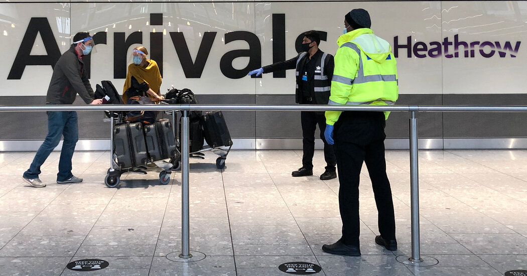 France Says British Quarantine Rules for Travelers Are Unfair