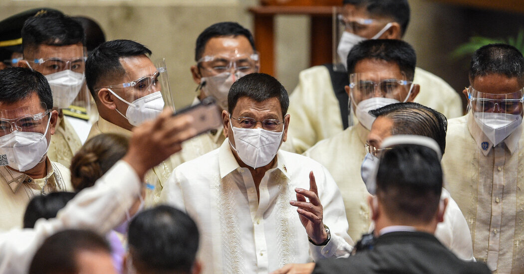 Duterte Says Vaccine Refusers in the Philippines Should Be Detained at Home