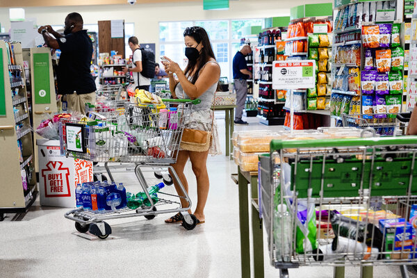 Starting Monday, the Florida-based chain Publix will require employees to wear masks in all its stores regardless of their vaccination status.