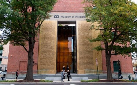 The Museum of the Bible in Washington wasfounded by the family that owns the Hobby Lobby craft store chain.