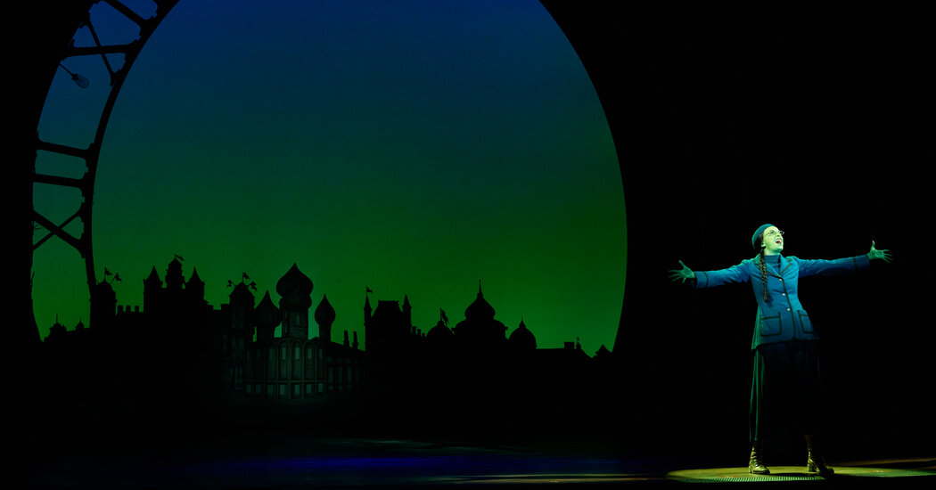 'Wicked' Hits the Road, Carrying the Hopes of Broadway Tours
