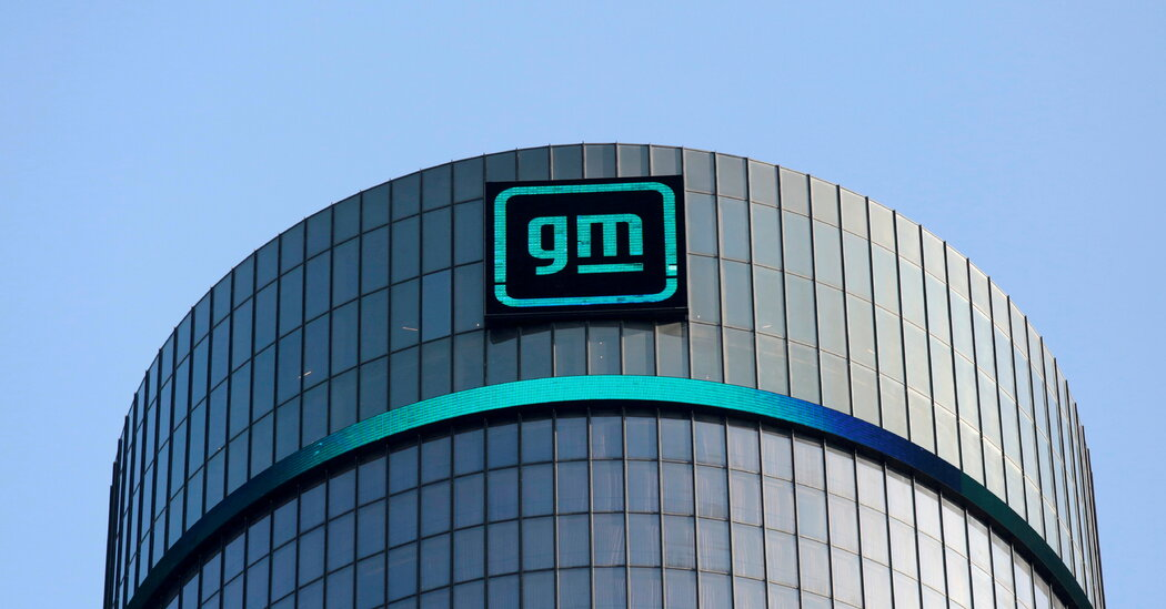 General Motors reports a jump in profit as demand for vehicles climbs.