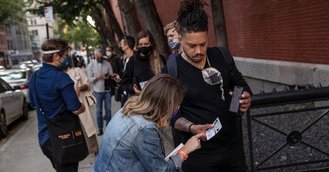 New York City's Vaccine Passport Plan Renews Online Privacy Debate