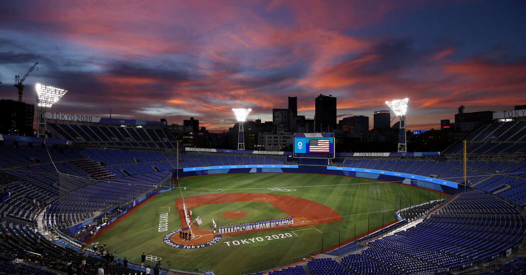 U.S. Baseball Team to Play Japan in the Gold Medal Game