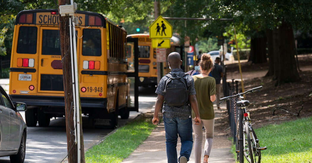 School Is Back in Session in Atlanta. Teachers and Families Are Wary.