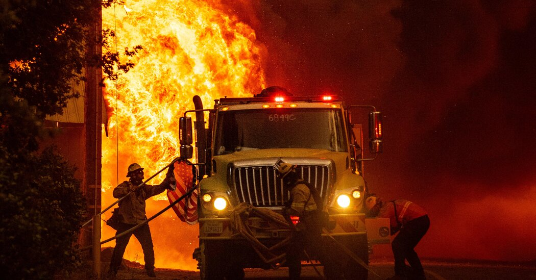 The Dixie Fire shows no signs of slowing down.