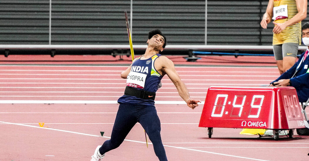 India Wins Its First Track Olympic Gold