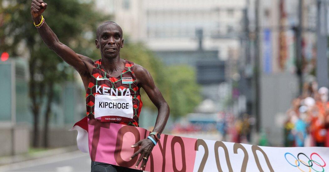 Eliud Kipchoge Defends Olympic Marathon Title, Securing His Legacy