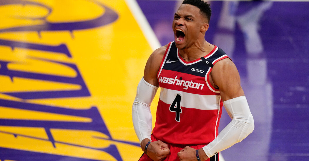 Westbrook Always Plays With Stars. But Will They Align on the Lakers?