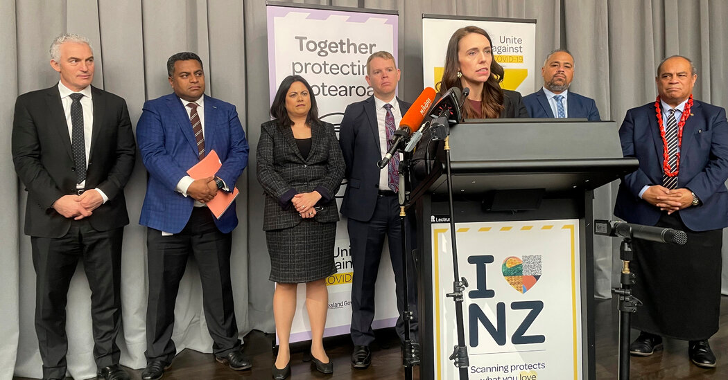 New Zealand, a Pandemic Success Story, Unveils Reopening Strategy