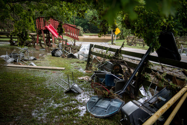 """""""We have lost a lot of roads, both rural and major highways,"""" said Rob Edwards, the chief deputy of the Humphreys County Sheriff's Office in Tennessee. """"In my 28 years, it's the worst I've ever seen it."""""""
