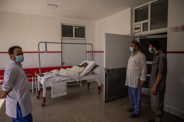 Inside the hospital in Kabul run by Emergency, the international aid organization.