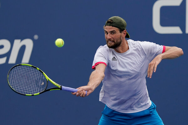 Maxime Cressy saved four match points to beat Pablo Carreño Busta, a top-10 player.