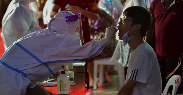 13virus briefing china covid facebookJumbo • China's Fujian Province Reports Delta Outbreak Coronavirus (2019-nCoV), Coronavirus Delta Variant, Fujian Province (China), Tests (Medical)