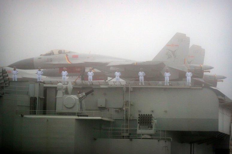 美国国防部说,中国目前拥有世界上最大的海军舰队。