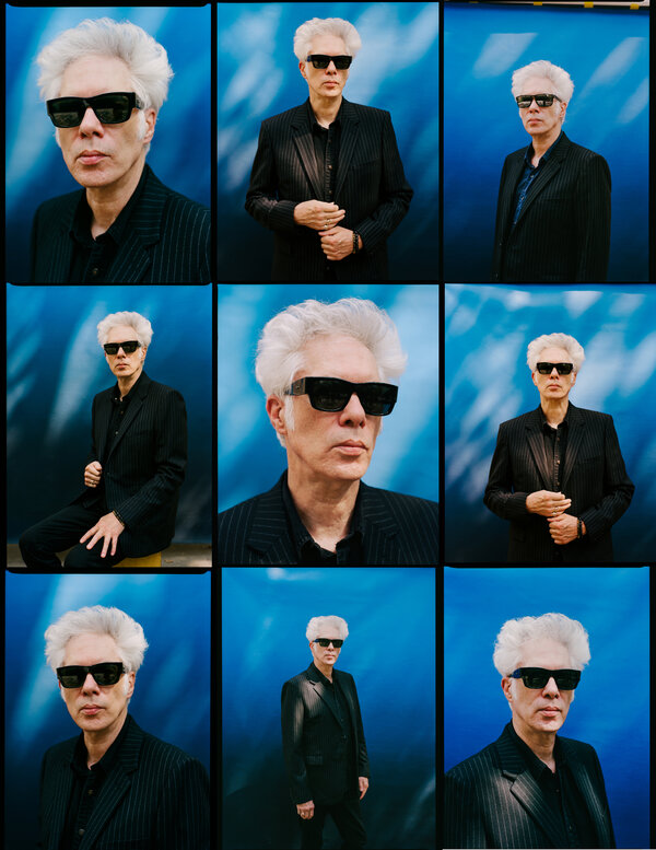 """""""I can work on them anywhere,"""" Jarmusch said of his collages. """"I make them in hotel rooms. Most of the time I do it between the rigors of making a film."""""""