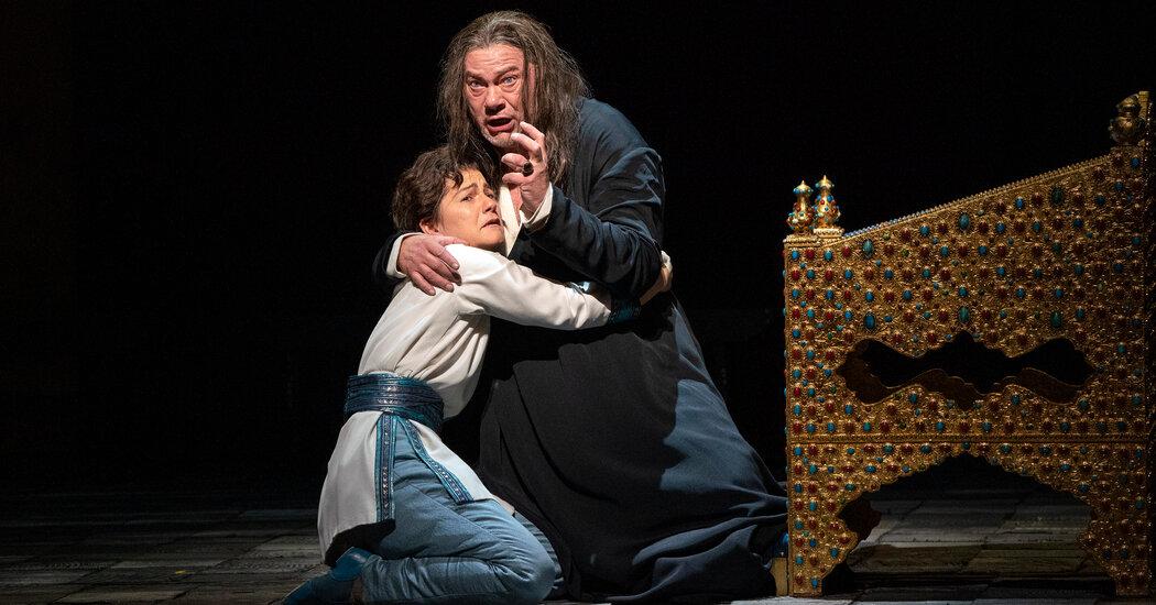 Review: After Met Opera milestone, 'Boris' brings another