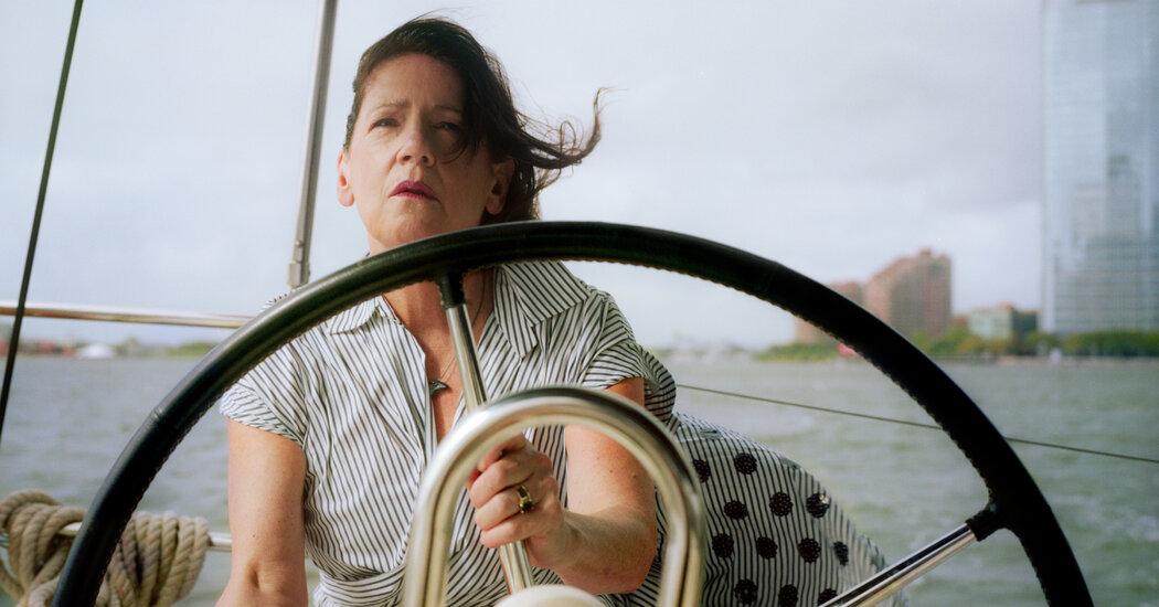 , Ann Dowd Sails Around New York Harbor, The Habari News New York