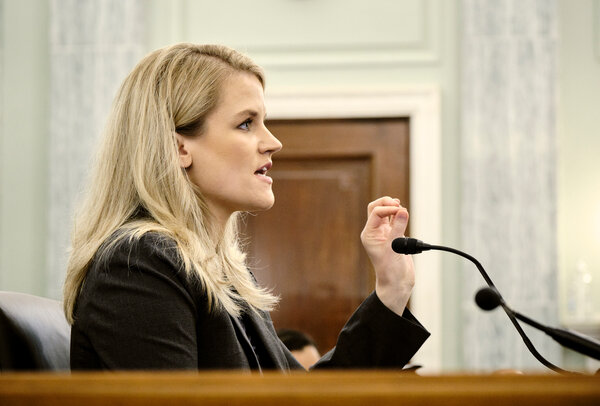 Frances Haugen, a whistle-blower who exposed Facebook's own research on the negative impacts of its platforms, testified in an Oct. 5 Senate hearing.