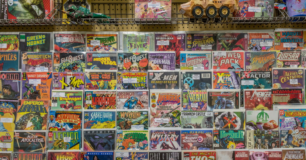 , He Read All 27,000 Marvel Comic Books and Lived to Tell the Tale, The Habari News New York