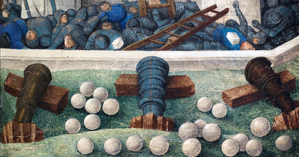 , This Chemist's Pandemic Hobby? Firing Medieval Cannonballs., The Habari News New York
