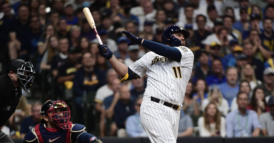 , NLDS: Tellez's Homer Gives Brewers a Win Over Atlanta, The Habari News New York