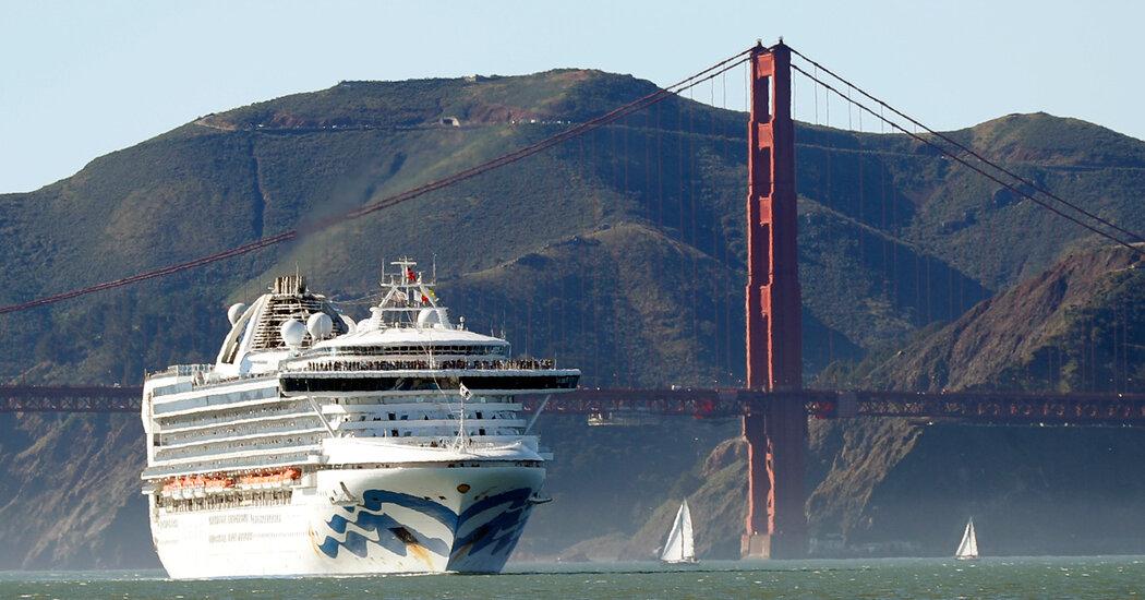 , After Covid Shutdown, Cruise Ships Return to San Francisco, The Habari News New York