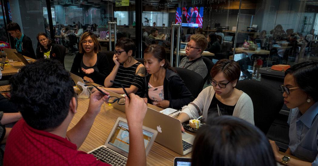 , Philippines' Nobel Prize Newsroom Is Overjoyed but Under Siege, The Habari News New York