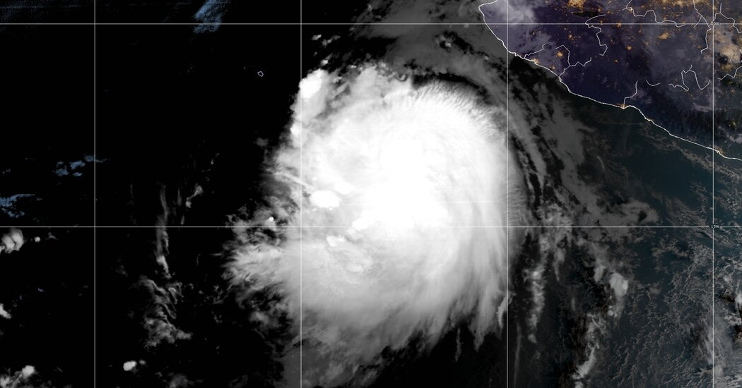 , Hurricane Pamela Makes Landfall in Mexico, the Eastern Pacific's 16th Storm, The Habari News New York
