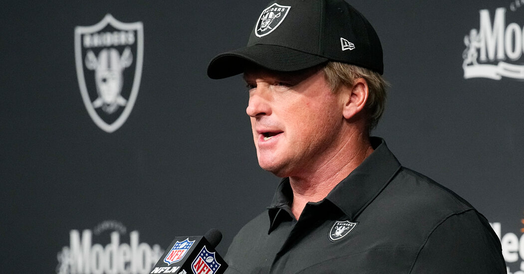 , Jon Gruden Emailed Homophobic and Mysogynistic Comments, The Habari News New York