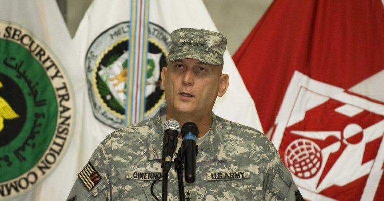 Gen. Raymond T. Odierno, Former U.S. Commander in Iraq, Dies