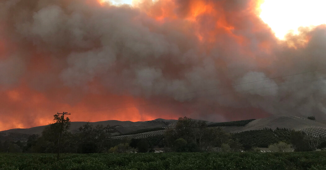 , Alisal Fire in California Consumes 6,000 Acres in 24 Hours, The Habari News New York
