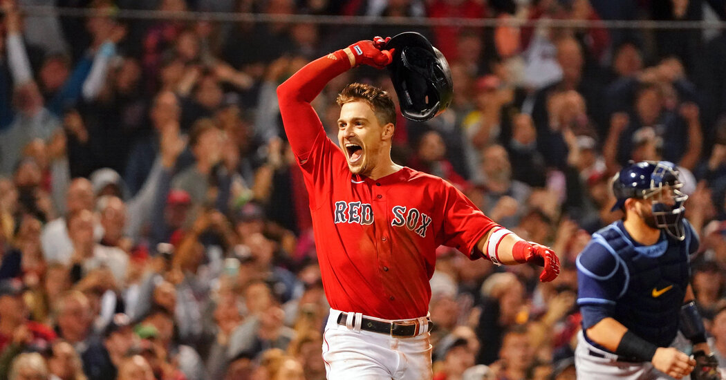 , Red Sox Beat Rays to Advance to ALCS, The Habari News New York