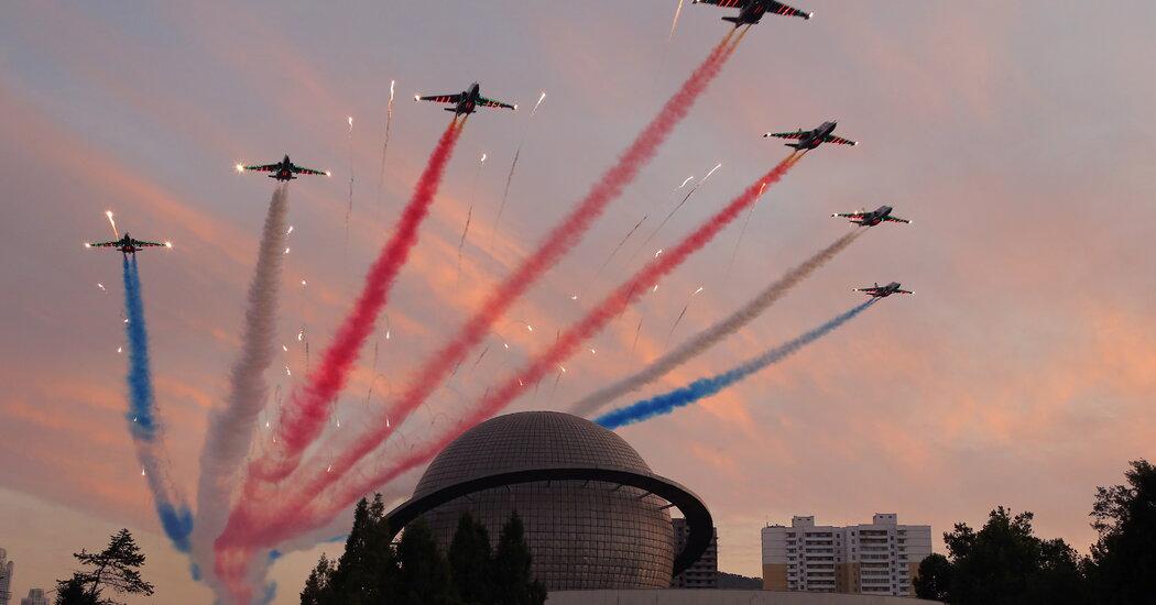 , North Korea Displays Missile Arsenal Amid Stalled Talks, The Habari News New York