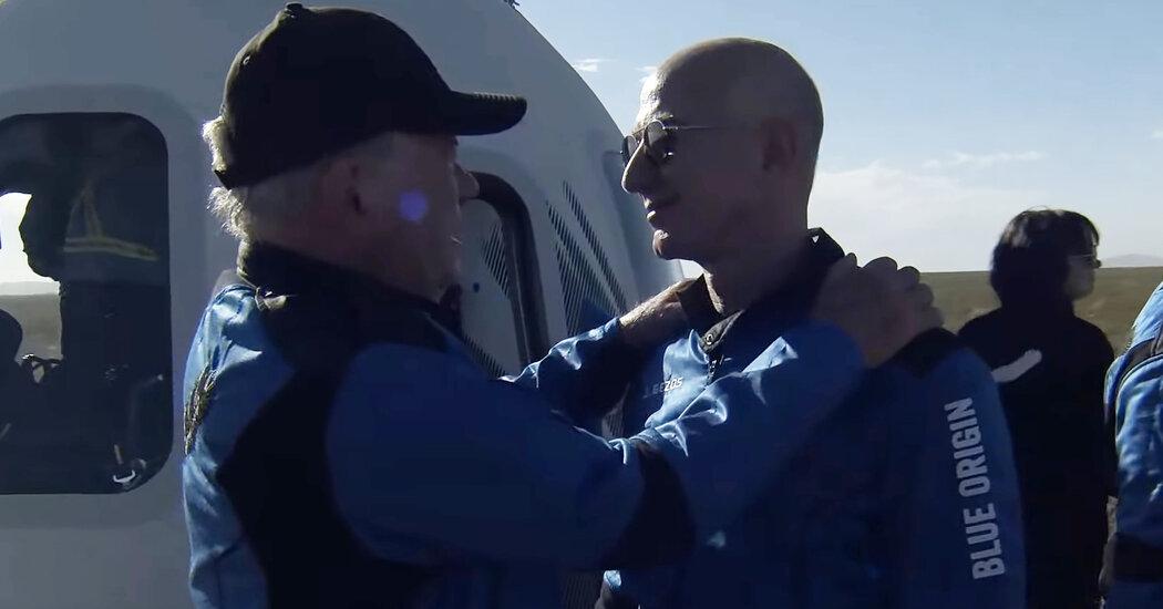 , William Shatner's Star Trek Moment With Jeff Bezos, The Today News New York